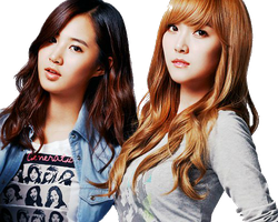 SNSD PNG YulSic PNG by nath23