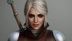 Ciri in Ursine Wallpaper by astoralexander