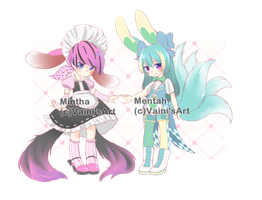 Maid set- Adoptable Auction [close] by VainisArt