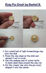 Easy Miniature Pie Crust by ToothFairyMiniatures