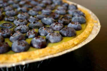 Blueberry Lemon Pie by chiziwhiteafrican