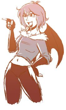 .:TOME Flame Girl:. by Dawnrie