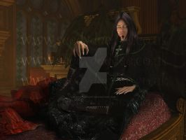 Lord Alvah for LadyVenomMyo by 3D-Fantasy-Art