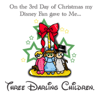 12 Disney Days of Christmas: 3 by caleigh