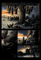 Dark Ages page 8 COLOR by klarens