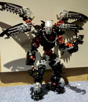 [BIONICLE] Blacking w/ the Kanohi Ignika by Elphin-Zephyr