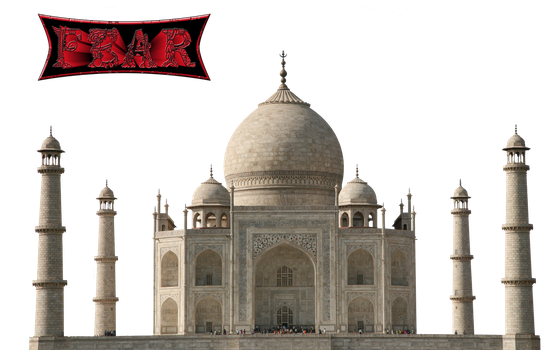 Taj-Mahal PNG by fear-25