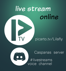 live stream online! by Lilafly