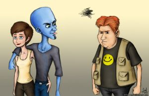 Blue aliens are very mature by JenL