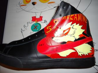 Pokemon shoes left by Electricb7