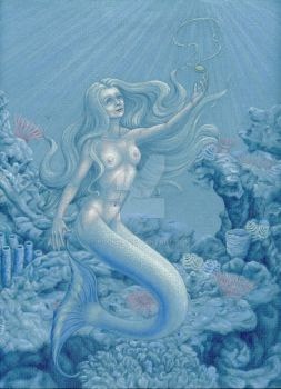 The Mermaid's Gift by poukha