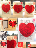Valentines Cards by R-A-W-R