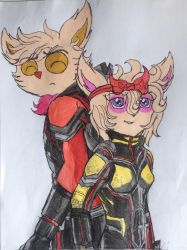 Ant-Man Teemo And The Wasp Jazz~! by Jazz-The-Yordle