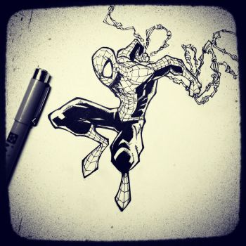 WEB HEAD ink by JoeyVazquez