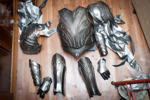 Thranduil cosplay armor hobbit lord of the rings by TheIdeaFix
