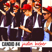Candid #4 Justin Bieber by oneetime