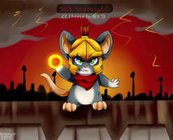 War of Mouse Spartan by FanDragonBrigitha