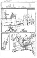 Spidey vs the Spot sample page 4 by JoeyVazquez