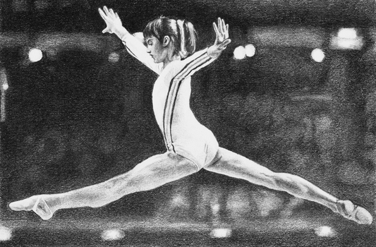 Nadia Comaneci by PMucks