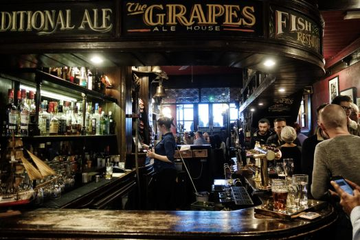 The Grapes by Offering
