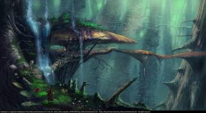 Magical forest!.. concept (6/2009) by wwsketch