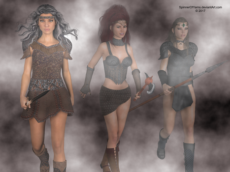 Valkyries by SpinnerOfYarns