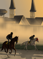 On the Grounds at Churchill Downs | Extra by TheEndlessHourglass