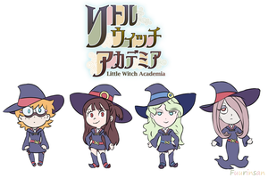 341. Little Witch Academia by Fuurinsan