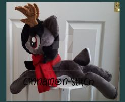 mlp plushie commission GENE THE DEER by CINNAMON-STITCH