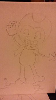Bendy (Bendy and the ink machine) by 000cocoa000