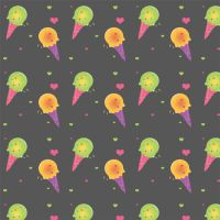 Ice Cream Colorful Pattern by mairimart