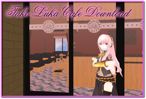 MMD Tako Luka Cafe Stage DL by AkitaFanZ
