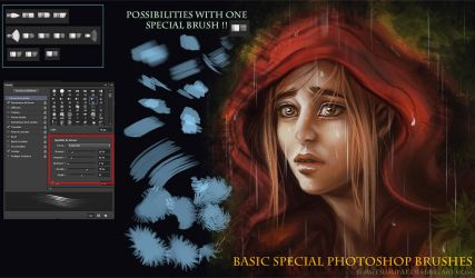 Photoshop CS6 Basic Special Brushes by Mutsumipat