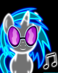 Neon Vinyl Scratch by ZantyARZ