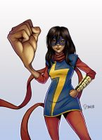 Ms. Marvel (Kamala Khan) by d-thorazza