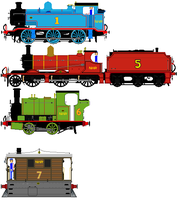 Really REALLY Useful Engines. by KaijuATTACK877
