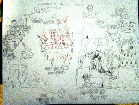 Rayman X Rebirth Gallery: World Map by Fahad-Lami