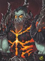 Deathwing-Human form by Jay--Zilla