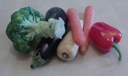 Selection of vegetables by richardnorth