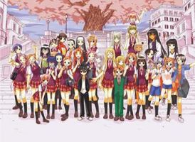 Negima Girls and Guy by Blood0Stained0Hands