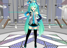 MMD Hatsune Miku [My Version] by Siiahh