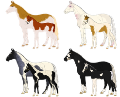 Mare and Foal Paint auction- LINEAGE by ssomme