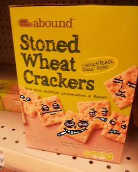 Stoned Wheat Crackers by Secksy-sensei