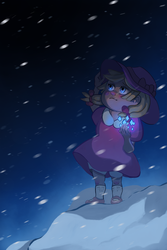 A girl from Snowman: Ana by Lightcall-Skeleton
