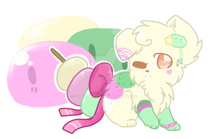 Dango Sweets CandyCollie Auction (CLOSED) by StarryEdge