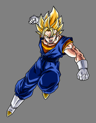 Vegetto Super Saiyan by hsvhrt