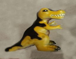 Rubber T-REX by LiviuSquinky