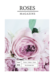 The Rose Magazine - magazine template by thesmellofroses