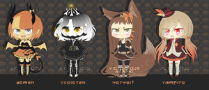 [1/4 OPEN] Halloween (Set Price) by victori-ous