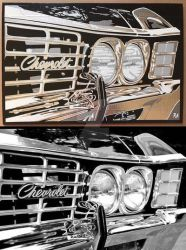 Impala Duct Tape Art by DuctTapeDesigns